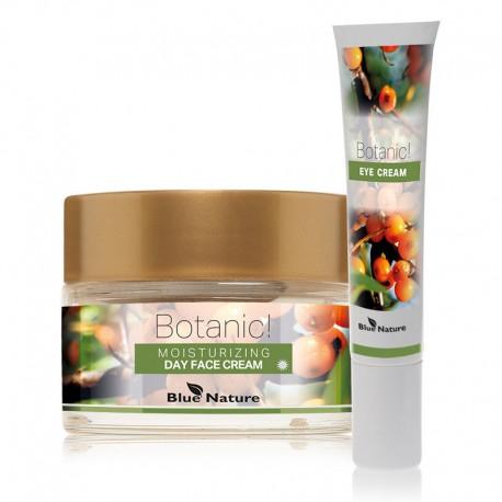 Set: Cremă hidratantă de față pentru zi Botanic! + Cremă antiriduri pentru zona ochilor Botanic!