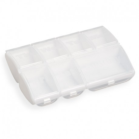 Cutie pentru comprimate transparentă