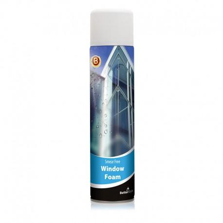 Spumă pentru curăţarea geamurilor şi a altor suprafeţe