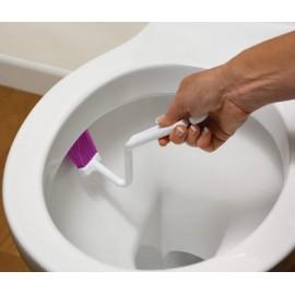 Periuţă pentru curăţarea vasului de WC