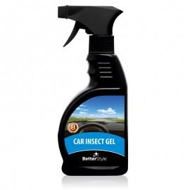 Gel pentru îndepărtarea resturilor de insecte de pe farurile, geamurile şi caroseria auto