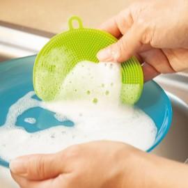 Burete din silicon pentru spălat vase