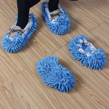 Papuci - mop de lustruit podeaua