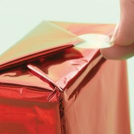 Autocolante transparente rotunde pentru cadouri 100 de autocolante