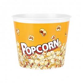 Recipient popcorn - galben