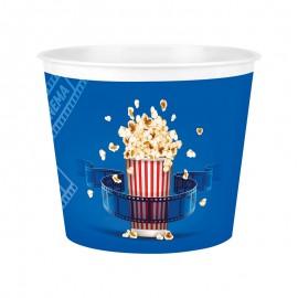 Recipient popcorn - albastru