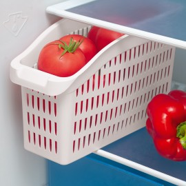 Organizator frigider transparent