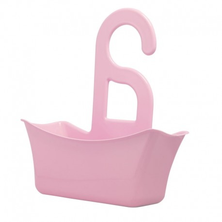 Organizator pentru baie roz