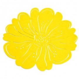 Napron din pâslă galben