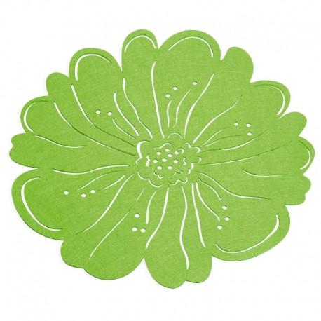 Napron din pâslă verde