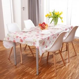 Faţă de masă rezistentă la pătare - cu flori