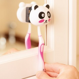 Suport cu ventuze pentru periuţa de dinţi panda
