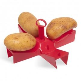 Suport pentru coacere cartofi în cuptorul cu microunde