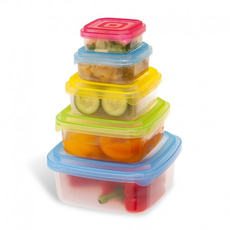Set caserole pentru depozitarea alimentelor
