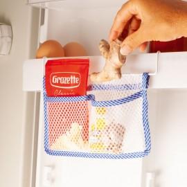 Organizator din plasă pentru frigider