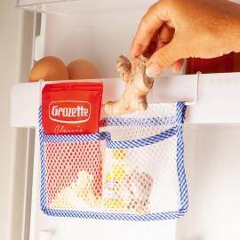 2 x organizator din plasă pentru frigider