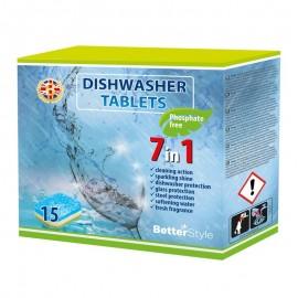 Tablete pentru maşina de spălat vase 7 în 1