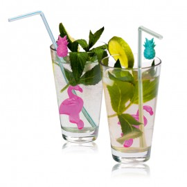 """Cuburi de gheaţă reutilizabile pentru băuturi """"Flamingi"""""""
