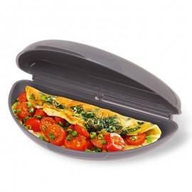 Formă pentru a face omletă la cuptorul cu microunde