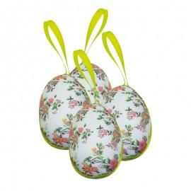 """Ouă de paşte - decoraţiuni """"Flori pictate"""""""