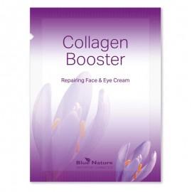 Mostră de cremă reparatoare pentru față și sub ochi Collagen Booster, (1,5 ml), 1 buc.