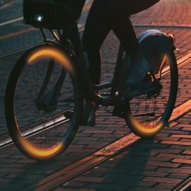 Benzi reflectorizante pentru roţi de biciclete