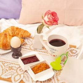Recipient dublu pentru micul dejun
