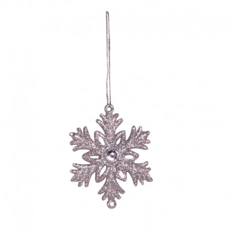 Ornamente cu cristale - fulgi de zapada