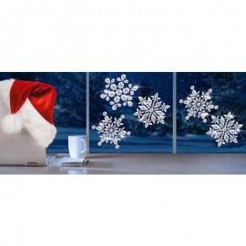 Fulgi de zăpadă de cristal
