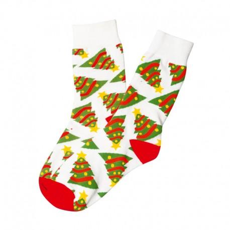 Şosete de Crăciun albe