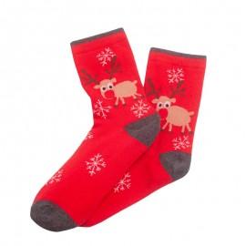 Şosete de Crăciun roşii