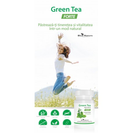 Pliant Green Tea Forte (10 buc.)