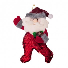 Moş Crăciun cu paiete