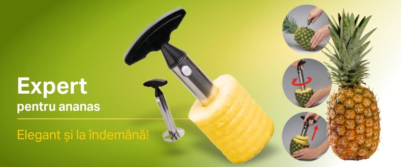 Cuţit profesional pentru ananas