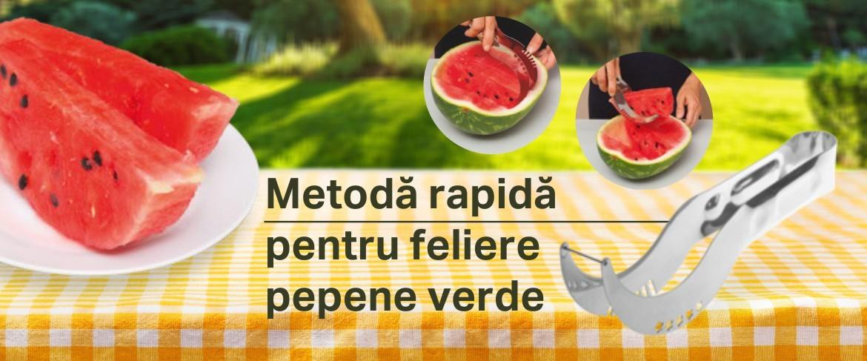 Cuţit-apucător pentru pepene verde