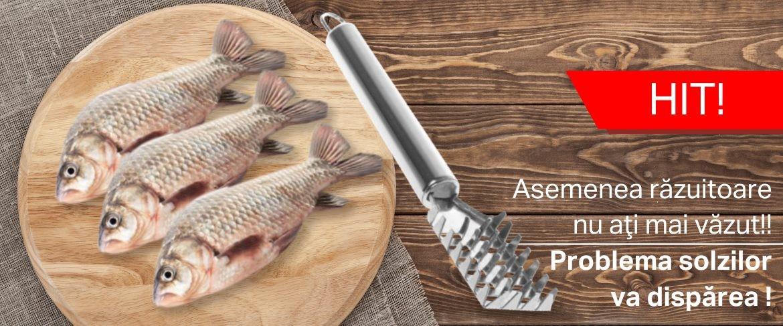 Curăţător solzi de peşte